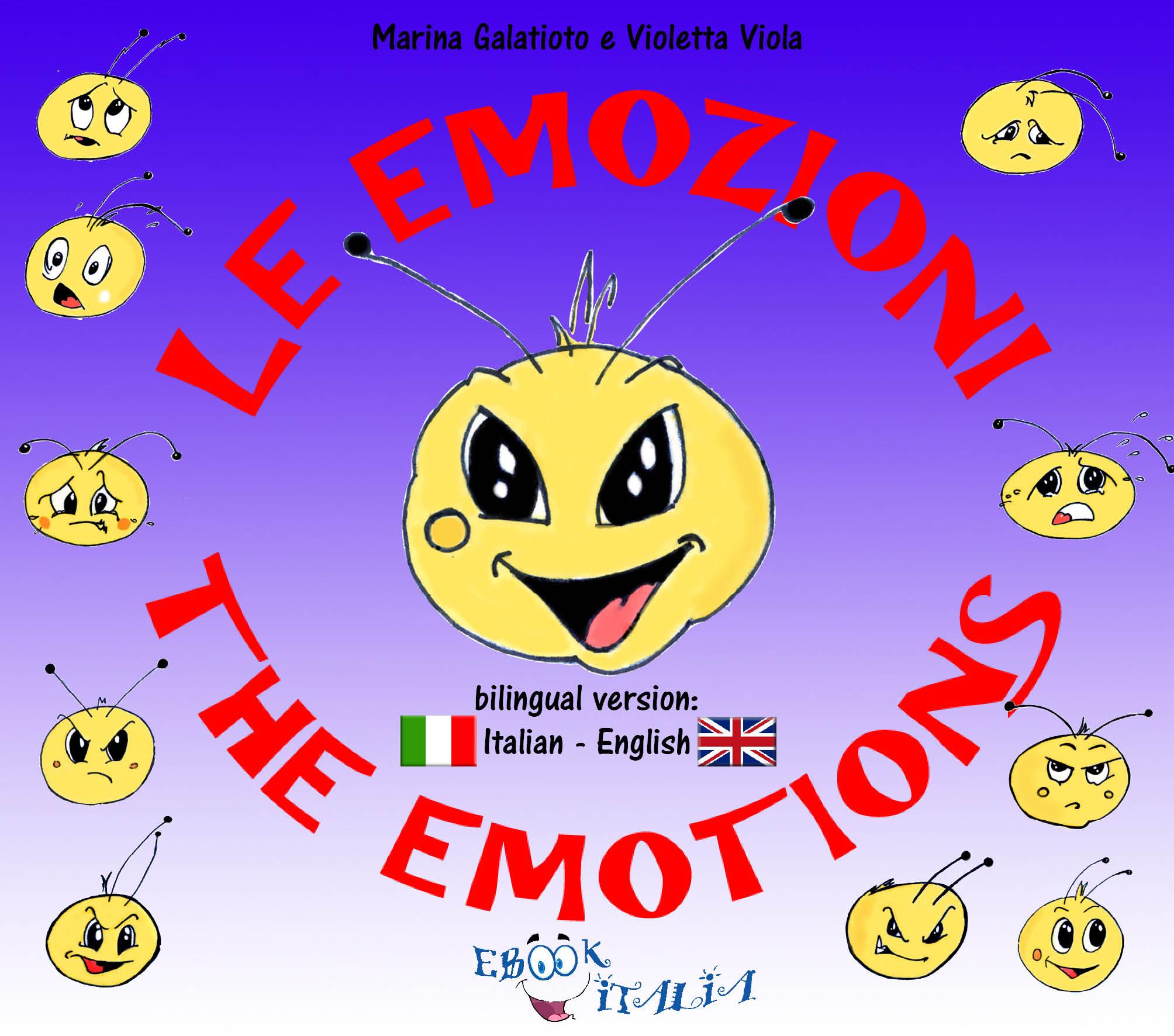 Le Emozioni per Bambini bilingue ita-gb