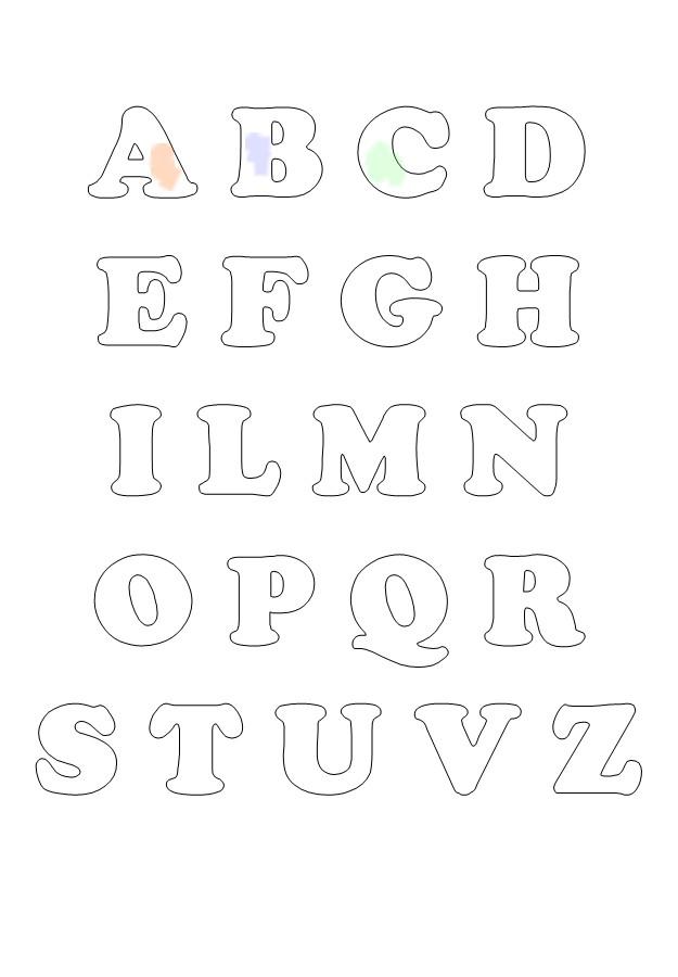 Famoso alfabeto per bambini da colorare - Mondo Fantastico TD17