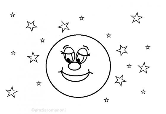 Disegni da stampare per bambini piccoli for Sole disegno da colorare