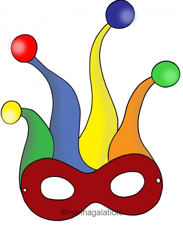 Maschere di carnevale da colorare for Immagini maschere carnevale da colorare