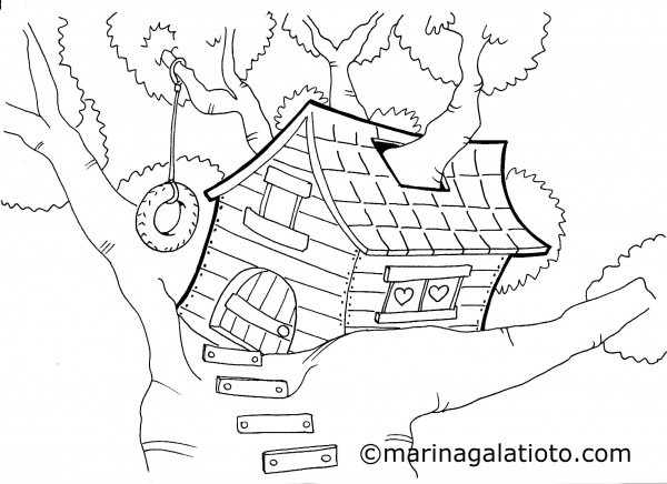 La casa sull 39 albero - Come disegnare un cartone animato di gufo ...