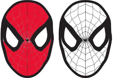 Maschera Di Spiderman Da Colorare.Carnevale Maschera Di Spiderman Da Colorare Mondofantastico Com